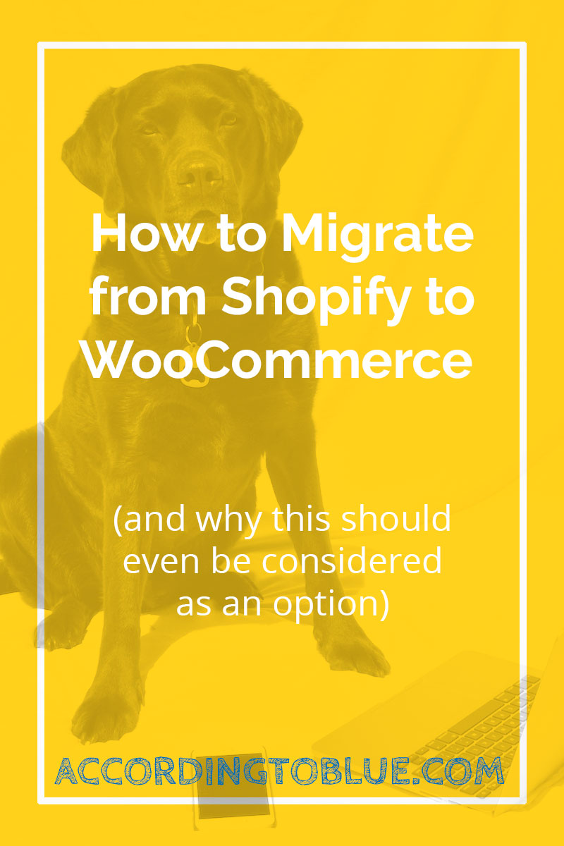 migrate shopify woocommerce