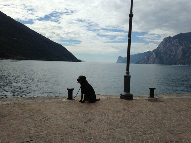 Blue at Lake Garda, Italy