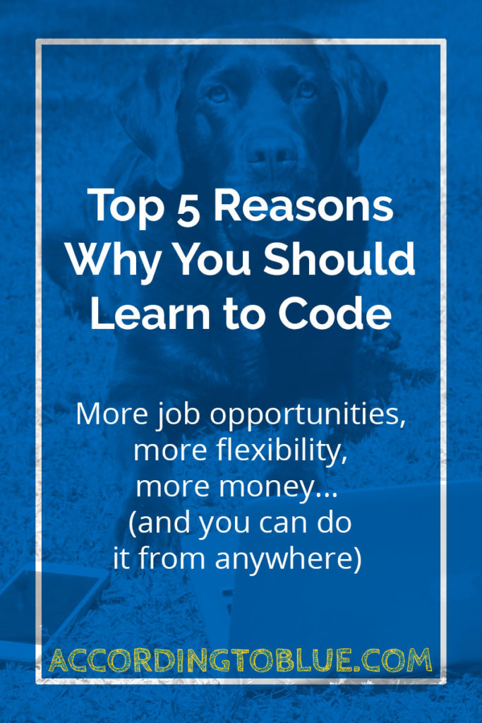 Top 5 Reasons Why You Should Learn to Code