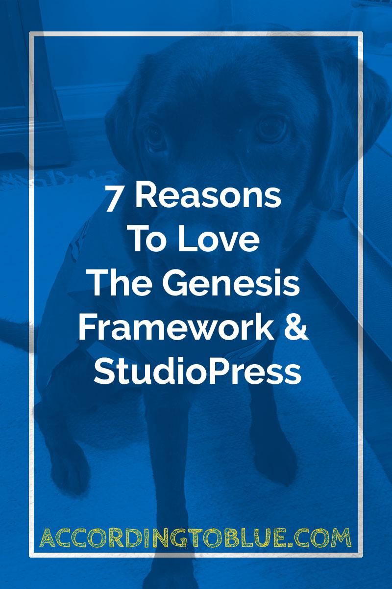 Genesis Framework And StudioPress