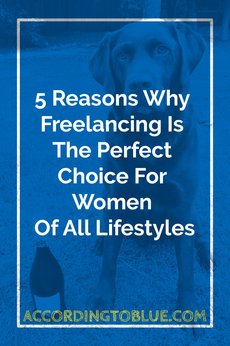 Freelancing suits women